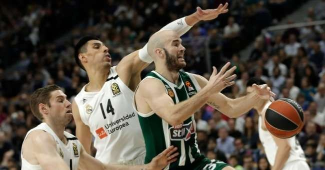 İlk Final Four bileti Real Madrid'in