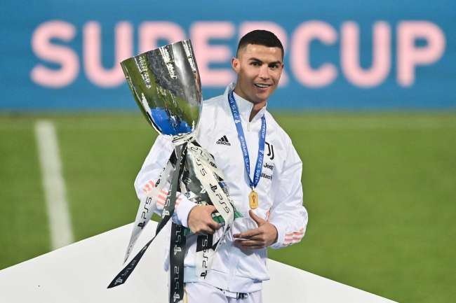 Juventus' Super Cup win can reignite Scudetto defense, Ronaldo says