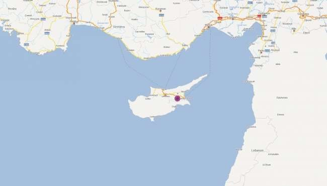 Magnitude 5 earthquake hits Turkish Cyprus' Gazimağusa