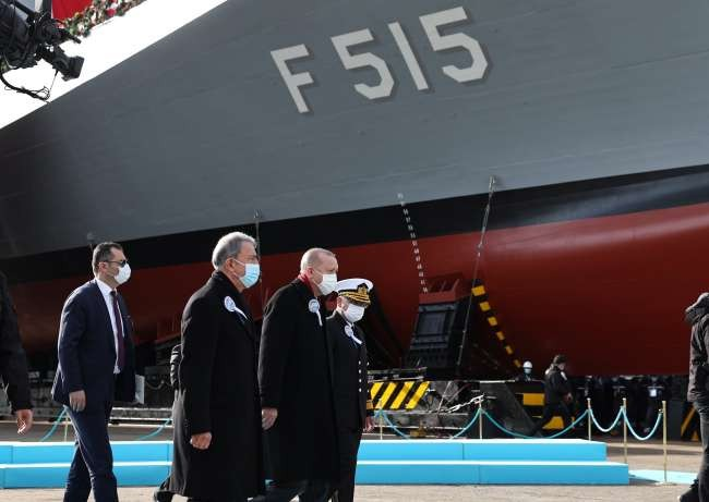Turkey among 10 states that can build warships from ground up: Erdoğan