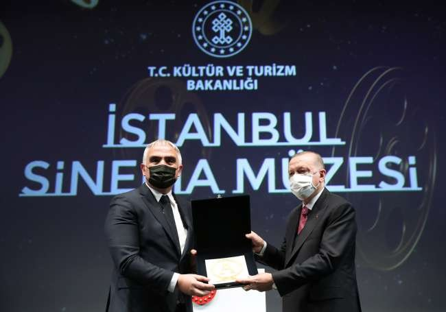 Istanbul Cinema Museum opens at Istiklal's famous Atlas Theatre