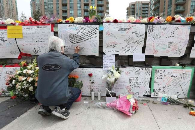 Toronto van attacker found guilty of killing 10
