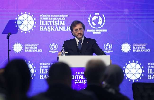 Disinformation a national security issue for Turkey, Altun says