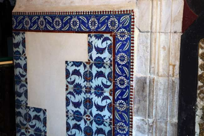 Turkey stops Sotheby's auction of stolen mosque tiles