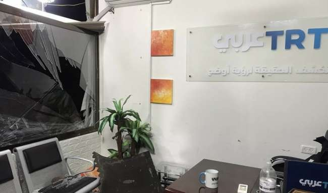 Israel hits Turkish TV office in Gaza