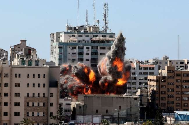 Israel destroys building housing AP, Al-Jazeera offices in Gaza