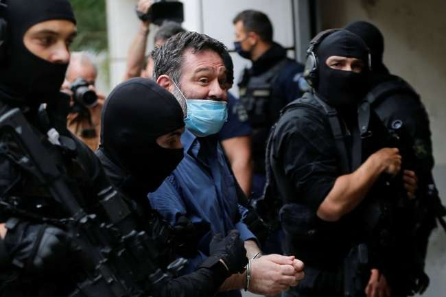 Greek far-right MEP extradited to Athens, faces 13 years in jail