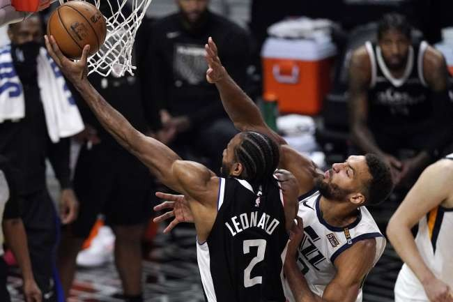 Los Angeles Clippers beats Utah Jazz to claw back in playoff series