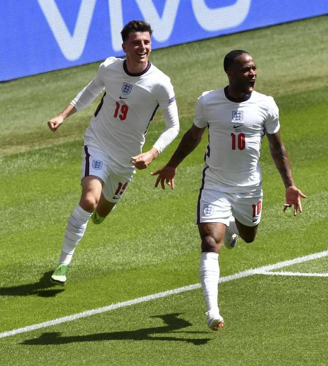 Sterling strikes as England beats Croatia to launch Euro 2020 campaign