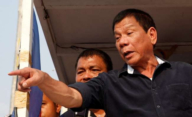 Philippines' Duterte to jail Filipinos who refuse vaccinations