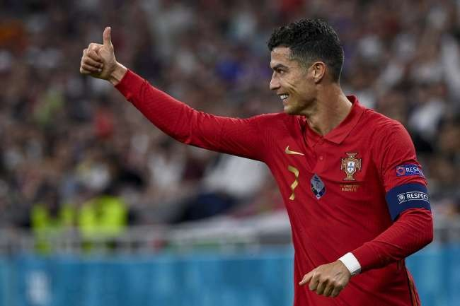 Ronaldo breaks record, Portugal draws with France in Euro 2020