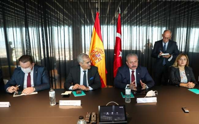 Turkey eager for close cooperation with Spanish parliament: Şentop